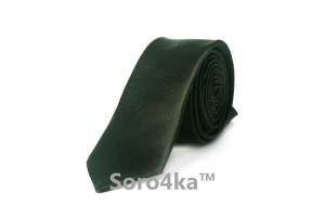 Чорна вузька краватка ASTRON