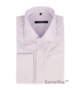Світло-фіолетова сорочка на запонки Middle fit Astron