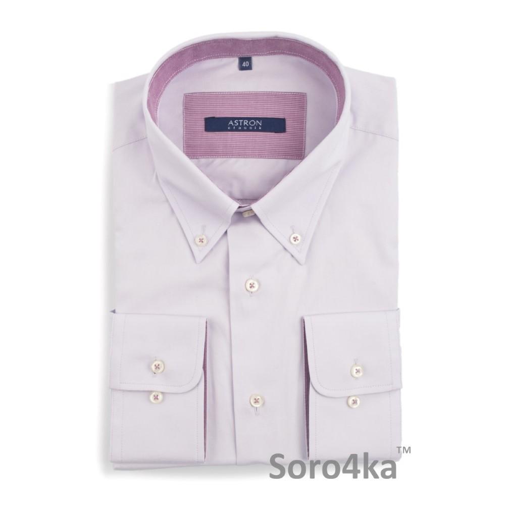 Сорочка світло-фіолетова Middle fit Astron  66b508e9aac07