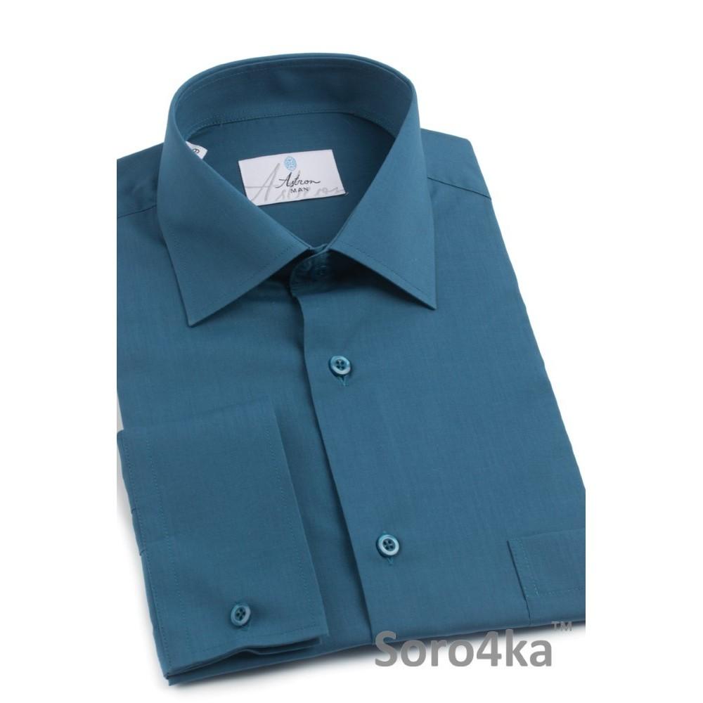 Зелена сорочка напівприталена Astron  b02c6fdc20cd0