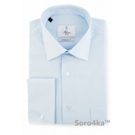 ГОЛУБАЯ РУБАШКА MIDDLE FIT ASTRON LIGHT BLUE SIMPLE PREMIER LINE