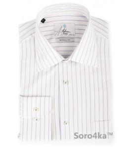Біла сорочка Astron в смужку
