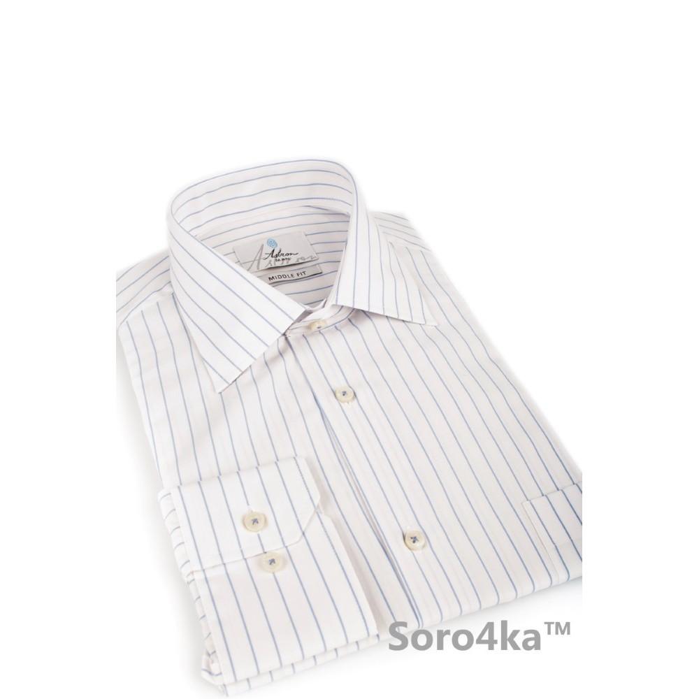Біла класична сорочка Astron  bfb49fae232bb
