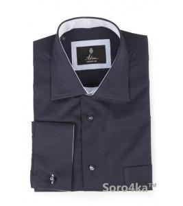 Стильна сорочка синя Middle fit Astron