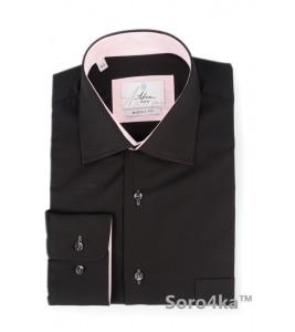 Модна чорна сорочка Astron