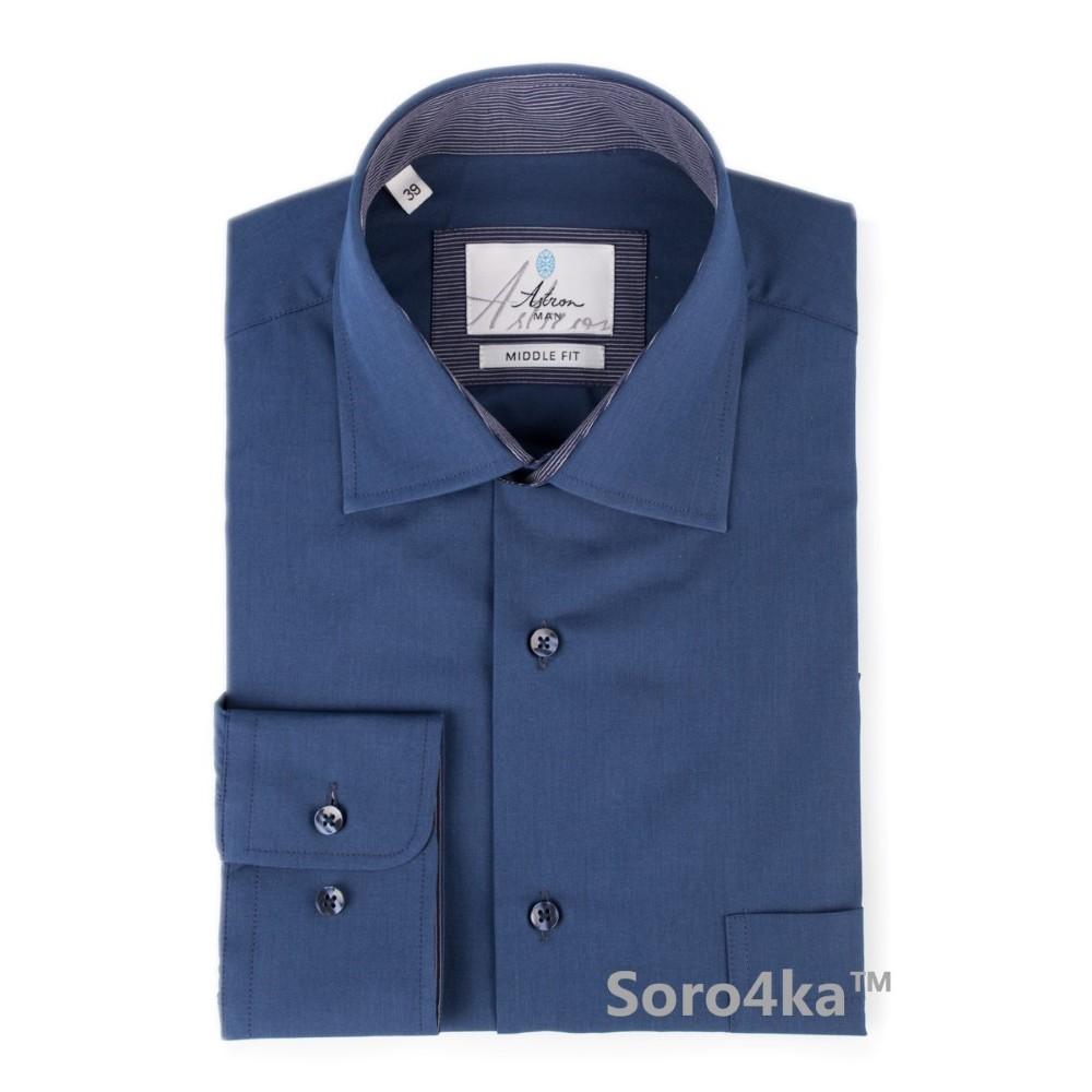 Синя сорочка Astron на довгий рукав bf5a8cdd93a56