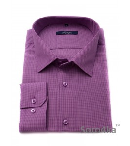Велика сорочка Middle Fit Astron Light Purple Check