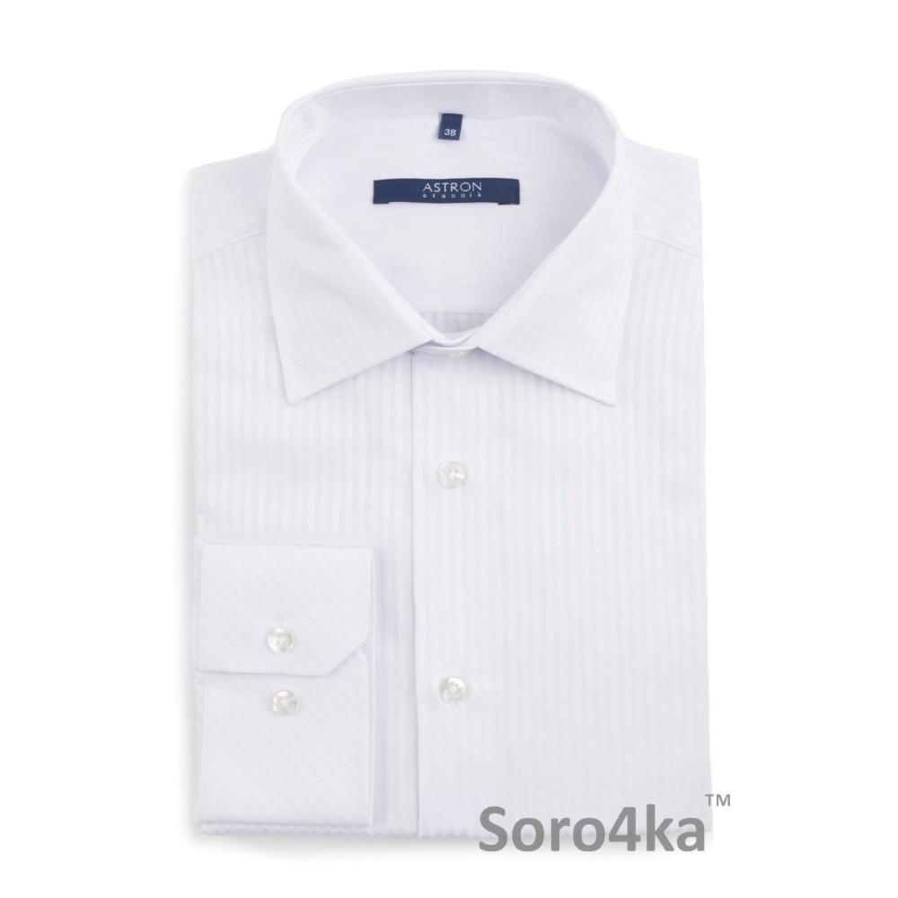 Біла класична сорочка в смужку Astron  fde4a68415e0f
