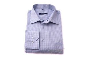 ГОЛУБАЯ РУБАШКА В КЛЕТКУ MIDDLE FIT ASTRON LIGHT BLUE CHECK