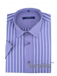Фіолетова сорочка Astron на короткий рукав
