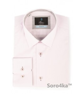 Стильна приталена сорочка Slim fit Astron