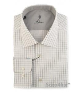 Біла сорочка в клітинку Astron
