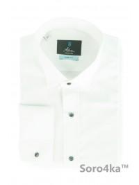 Біла сорочка під метелик Slim fit Astron