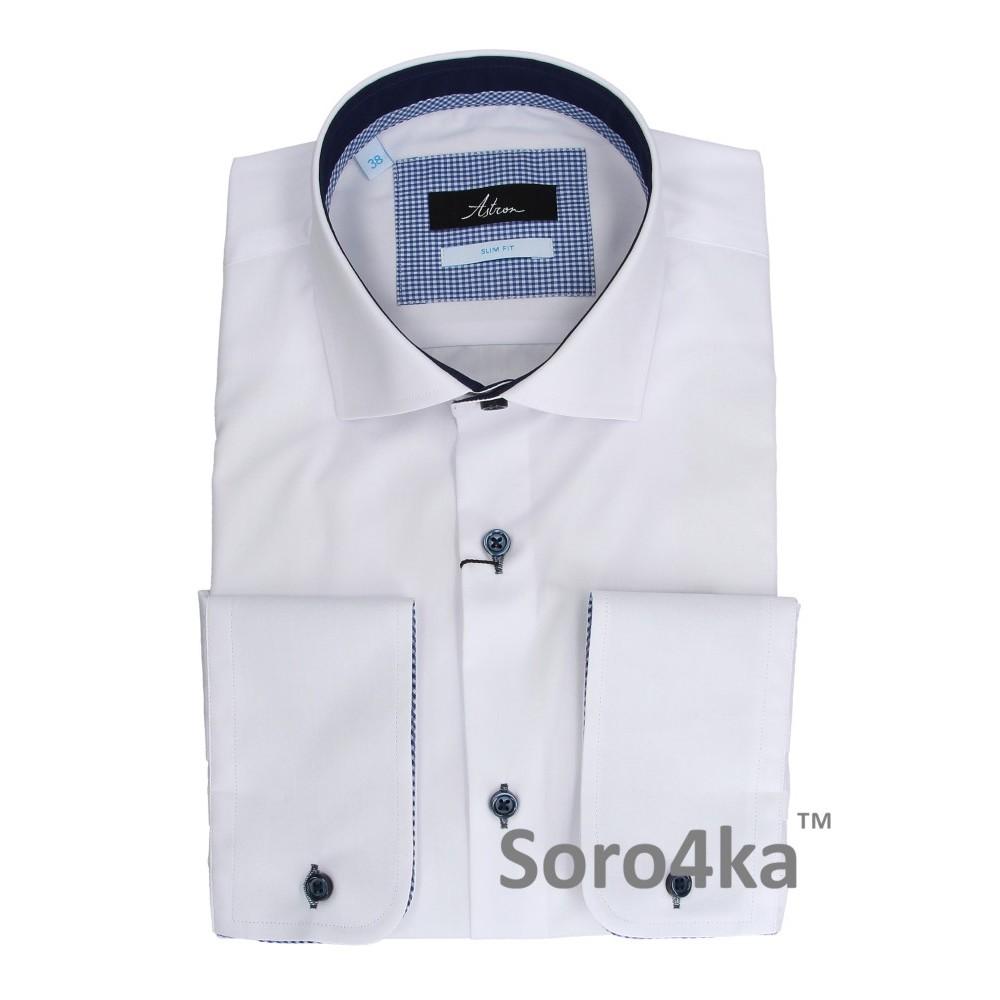 bfe62b841c0 Купить белую приталенную рубашку в интернет магазине с бесплатной ...