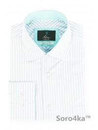 Стильна сорочка в смужку Middle fit Astron