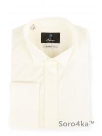 Сорочка під галстук-бабочку айворі Astron