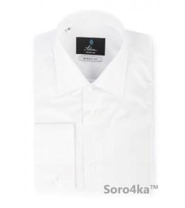 Біла класична полірована сорочка Astron