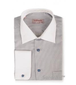 Модна сорочка з білим коміром Astron