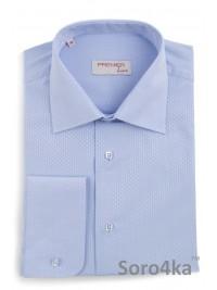 Блакитна сорочка Middle fit Astron