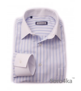 Сорочка Middle Fit Astron Light Blue Wide Stripe