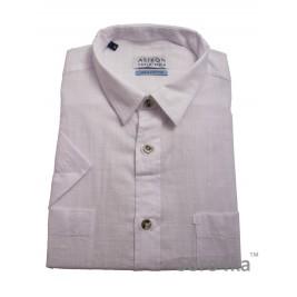 Біла сорочка Astron Casual на короткий рукав