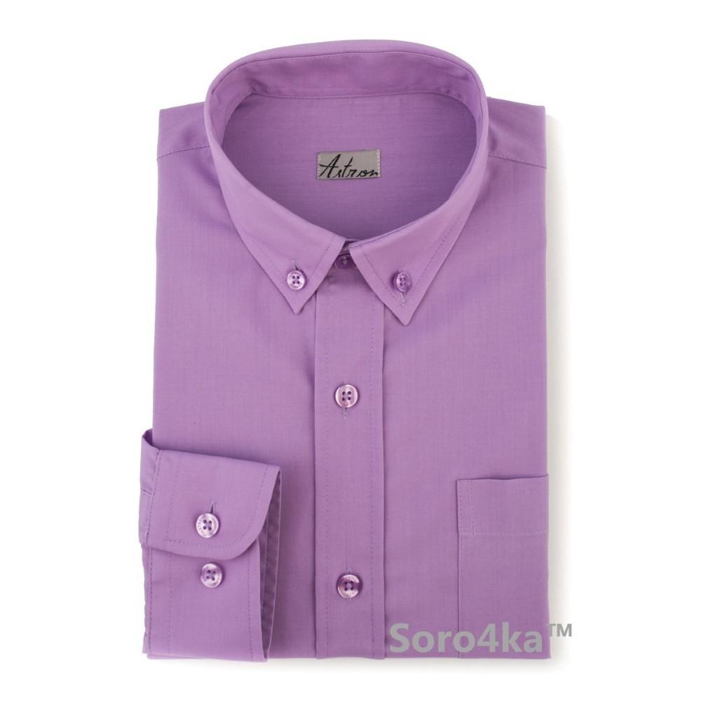 Дитяча фіолетова сорочка Astron ff7207edb7757