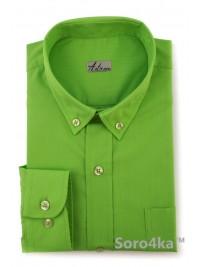 Дитяча зелена сорочка Astron