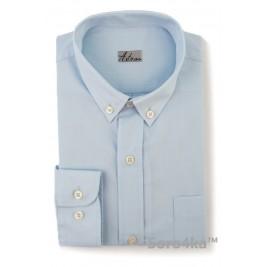 Дитяча світла блакитна сорочка Astron