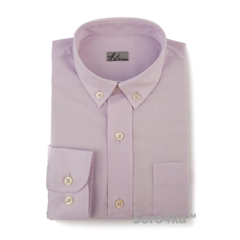 Дитяча світло-фіолетова сорочка Astron 85263383dbbbc