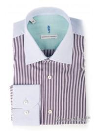 Сорочка блакитна Slim Fit Domenico Caravelli