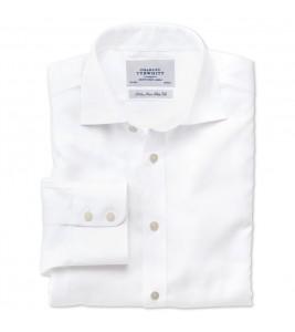 Класична біла сорочка Slim fit CHARLES TYRWHITT