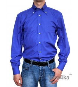 Синя італійська сорочка GAIA ITALIA (останній розмір 40)
