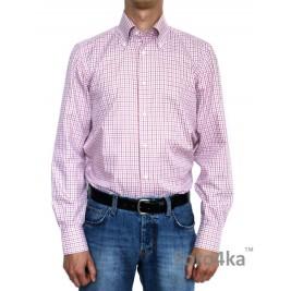 Італійська сорочка в клітинку Belvest (останній розмір 40)