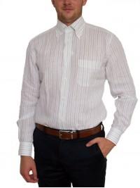 Італійська брендова сорочка в смужку Guy Rover (останній розмір 40)