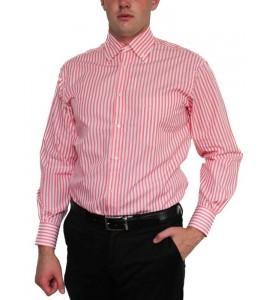 Рожева італійська сорочка Guy Rover (останній розмір 40)
