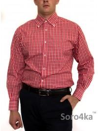 Червона брендова сорочка Guy Rover (останній розмір 42)