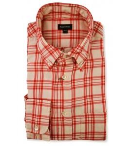 Брендова сорочка в клітинку Henry Cotton's (останній розмір 41)