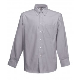 СОРОЧКА СІРА LONG SLEEVE OXFORD SHIRT