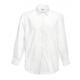 СОРОЧКА БІЛА LONG SLEEVE POPLIN SHIRT
