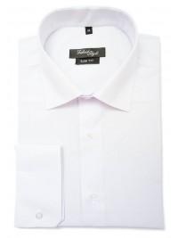 Біла сорочка класичного пошиву Fabrik Style