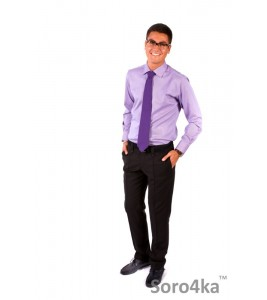 Сорочка Slim Fit Fabrik Style Purple Stripe
