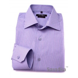 Сорочка Slim Fit Fabrik Style Blue&Purple Stripe