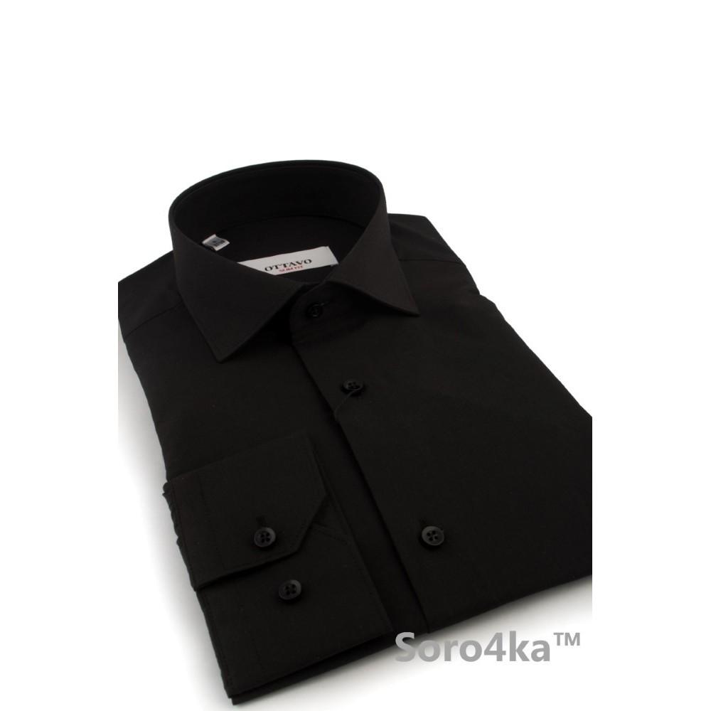 17eb3ef2c0d Чорна сорочка класична купити