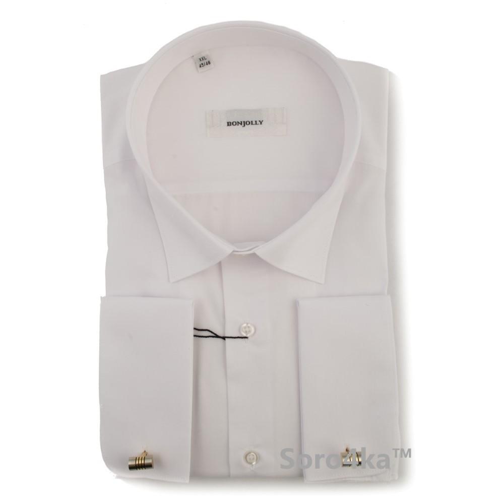 b6c66109633 Біла сорочка на запонки