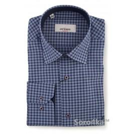 Чоловіча сорочка в клітку Slim fit Ottavo
