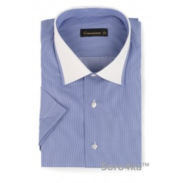 Сорочка Middle Fit Camminare Blue Combi Collar