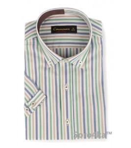 Сорочка в смужку Camminare на короткий рукав