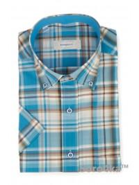 Стильна сорочка на короткий рукав Bonjoly