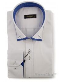 Біла сорочка Slim fit Brеndoff